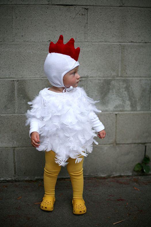 Baby chicken costume | Halloween 2013 | Lovely Morning