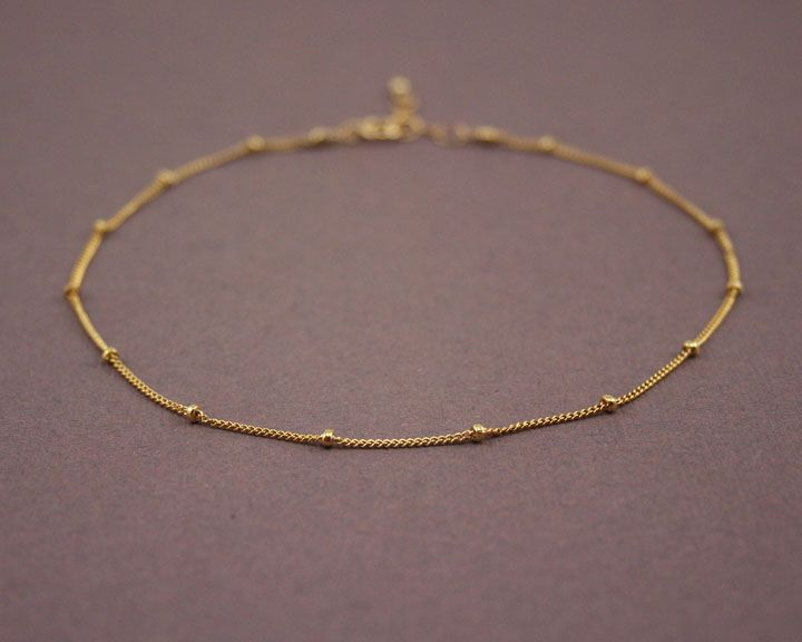 products doho anklets bracelet ribbon anklet il jewelry gold in handmade fullxfull original