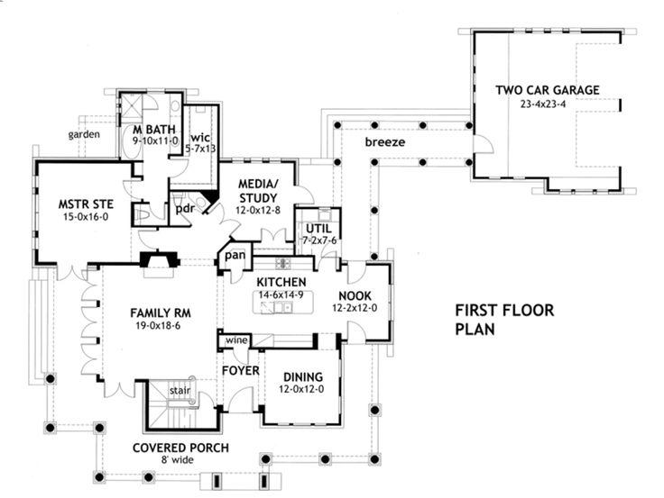 203 best houseplans images on pinterest dream house plans country house plans and house floor plans
