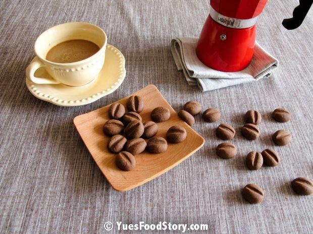 Use Up Your Instant Coffee Powder By Making A Batch Of These Chocolatecoveredcoffeebeans Coffee Biscuits Sweet Coffee Chocolate Covered Coffee Beans