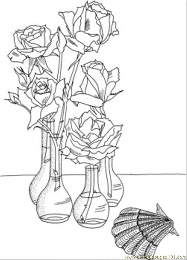 17 Best Images About Colouring Pages Flowers On Pinterest