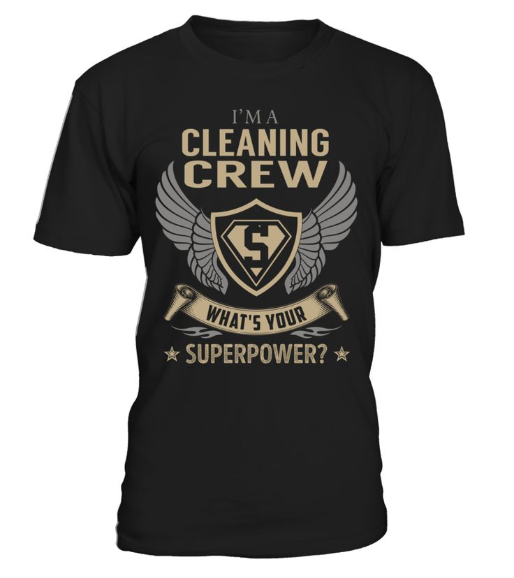 Cleaning Crew - What's Your SuperPower #CleaningCrew