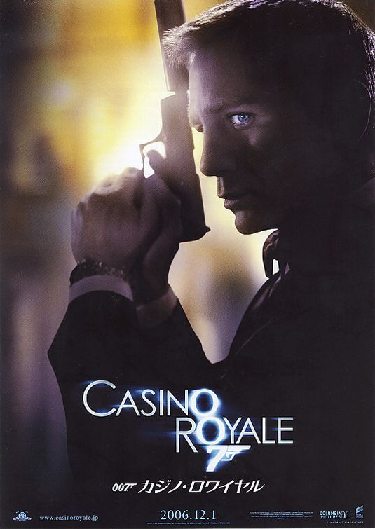 Casino Royale (2006)my name is Bond,James Bond very last line-cool!