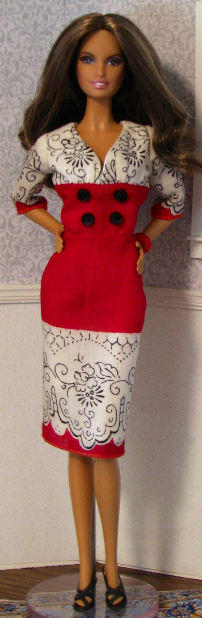 Red dress for christmas party zone