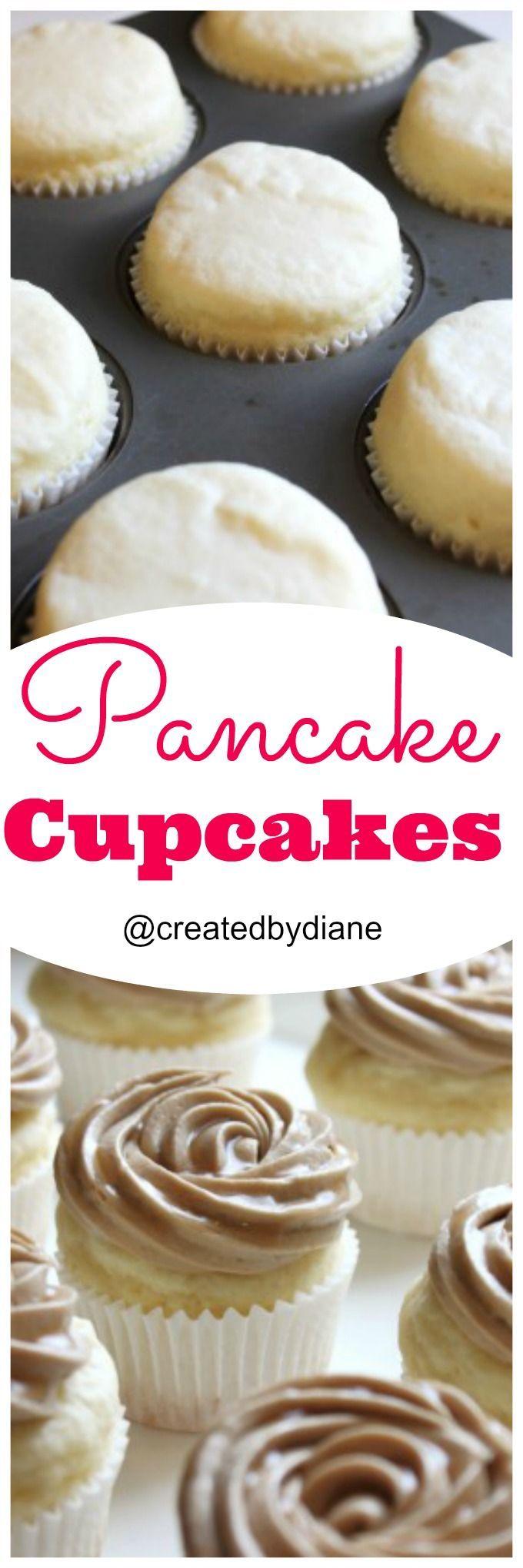 Pancake Cupcakes @createdbydiane