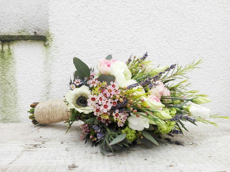 Brautstrauß Bridalbouquet Hochzeit Wedding Vintage shabby flowers Happy Blumen