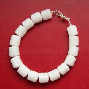 Bracelet pierre pour Homme ou bracelet mixte Quartz blanc