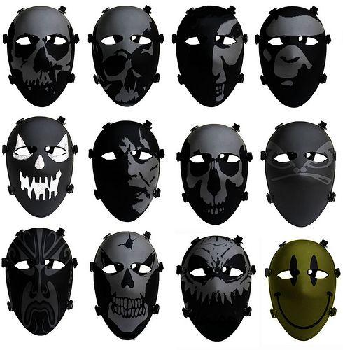 Badass Military Face Paint