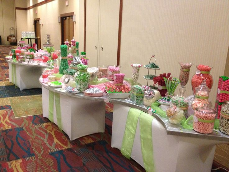 real events pink and lime green candy bar