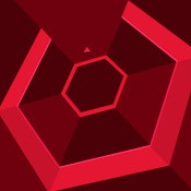 Super Hexagon for iOS by Terry Cavanagh. *Extremely* difficult, very fast-paced arcade game about dodging the walls of hexagons. This is the only game I'm playing on my iPhone right now.