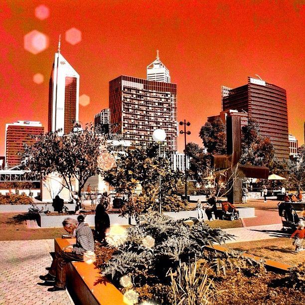 #Twenty20 #redsky #cityscape