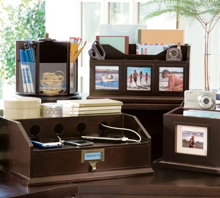 bedford desk accessories pottery barn home office desk accessories
