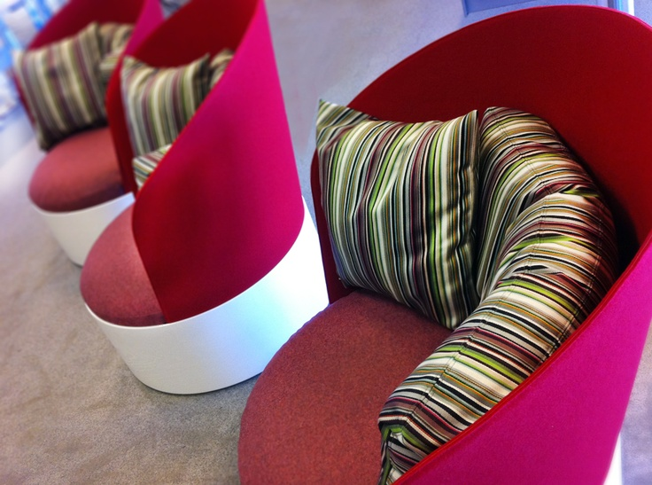 Easy-chair B25 covered in fabrics from Kvadrat.  Next destination - Lahti in Finland!