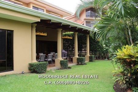 Costa Rica casa venta Parque Valle Del Sol en Santa Ana $620.000 /420 mts. lindo jardin.