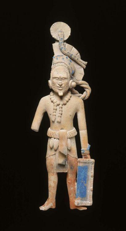 Warrior Effigy  Maya, 600-750 AD  The Museum of Fine Arts, Boston