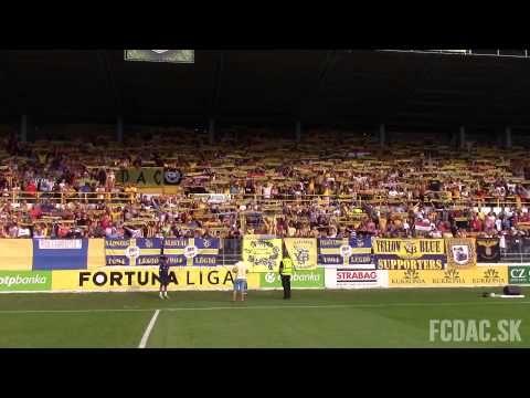 """Így hangzott a """"Nélküled"""" a DAC-Slovan meccsen - YouTube"""
