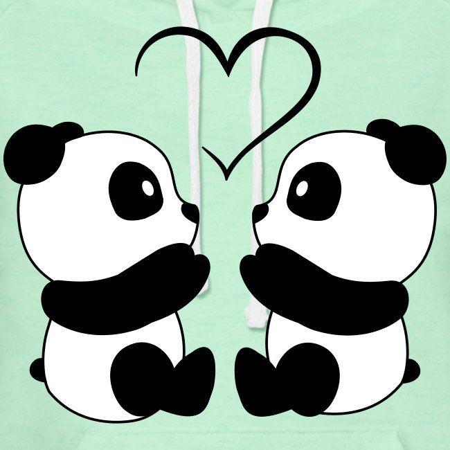 Love Wallpaper Cartoon Panda