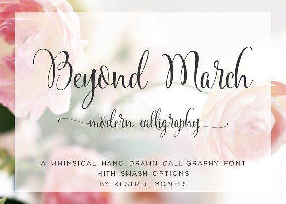 $3 This Week Only - Beyond March by InkMeThis on @creativemarket