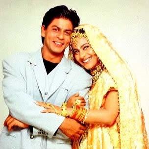 Kajol/SRK in Kuch Kuch Hota Hai