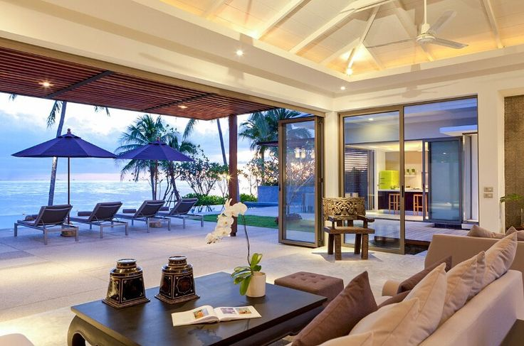 Inasia Beach Villa is an elegant contemporary Thai retreat with a panoramic vision over the Five Island beach. #kohsamui #thailand