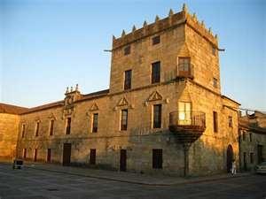 Spain, Galicia, Pontevedra, Cambados, Fefiñanes Palace