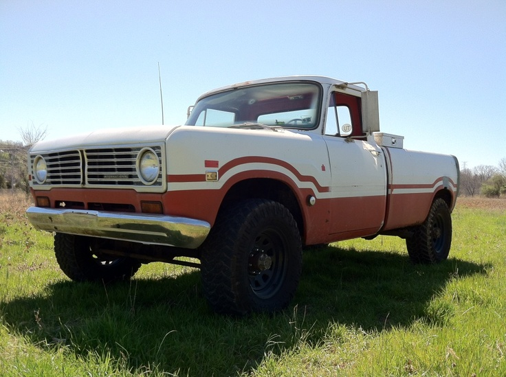 Looking For Pics Of A 70's IH Pickup W/ A Bobbed Bed