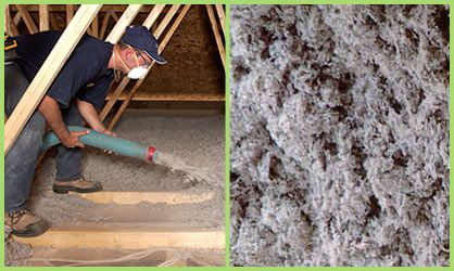 There are three types of insulation one of them is cellulose.