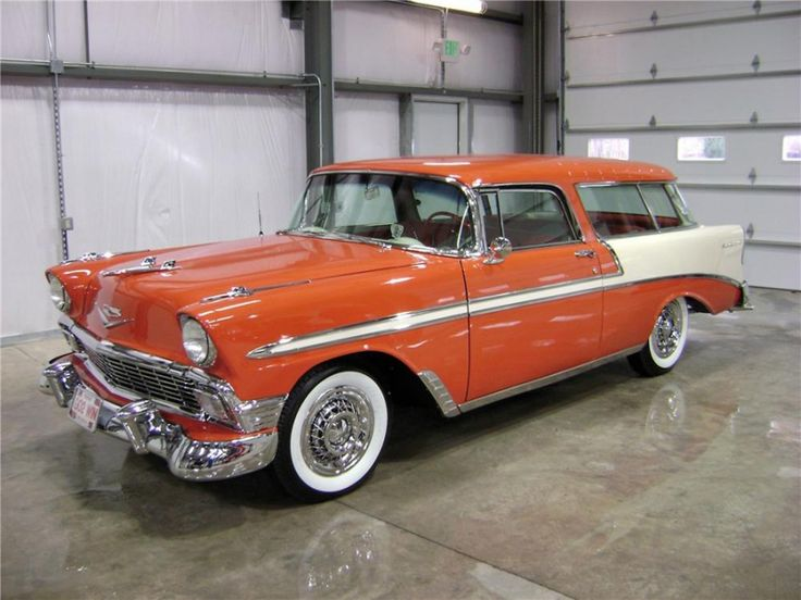 1956 Chevy Nomad Wagon - Bing Images.  Think this would be the best mom mobile! !