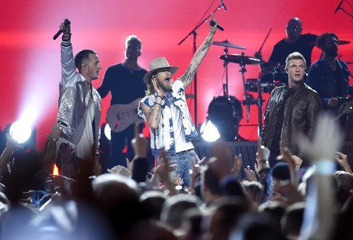April 3, 2017 (AP)(STL.News) While Justin Timberlake had a show-stopping moment alongside Chris Stapleton at the 2015 Country Music Association Awards, it was the Backstreet Boys who shined brightly at the 2017 Academy of Country Music Awards.      T...