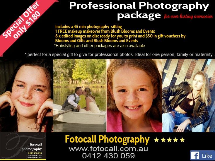for stunning #photography and amazing packages. www.fotocall.com.au