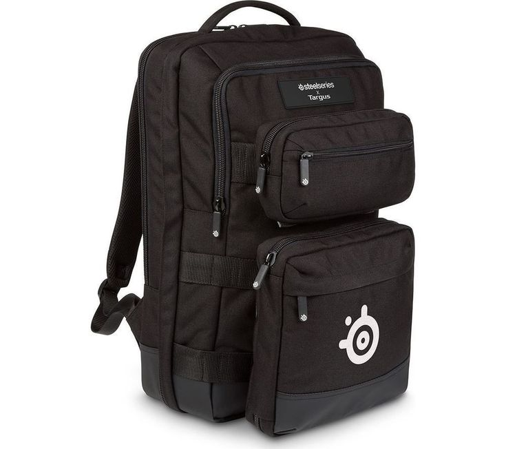 "TARGUS SteelSeries Sniper 17.3"" Gaming Laptop Bag Backpack - Black - New - UK"
