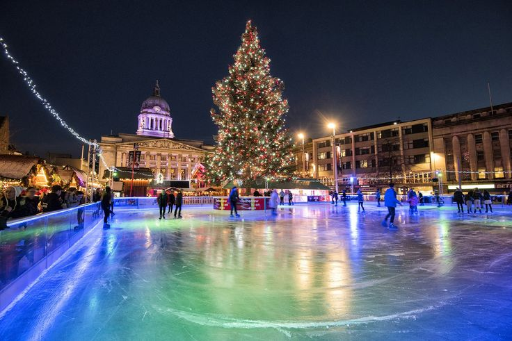 Winter Wonderland, Nottingham. @TraceyWhitefoot - Tracey Whitefoot on Twitter.