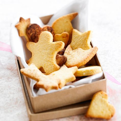Découvrez la recette Sablés de Noël sur cuisineactuelle.fr.