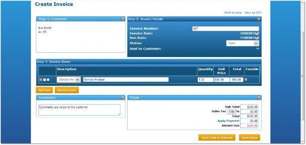 create invoice online free