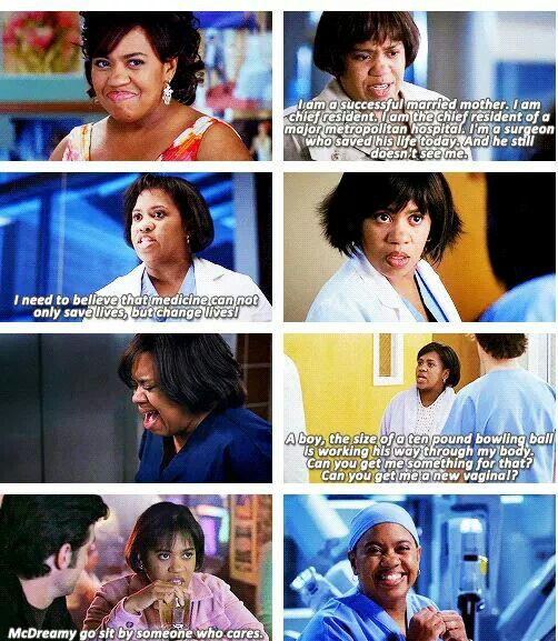 Miranda Bailey, everyone. One of my favorite characters.