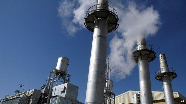 Arak heavy water production facility in Iran (2004 file image)