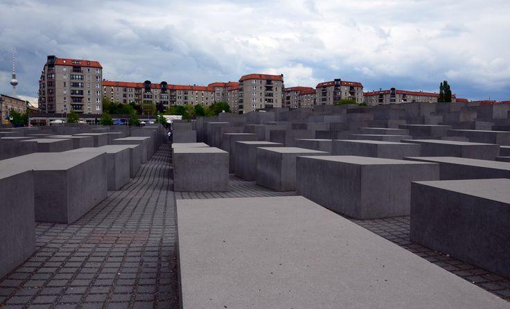 Ein stilles Mahnmal - das Holocust Denkmal! Berlin