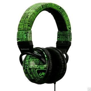 SkullCandy Hesh Series Skull Green - DJ Mix Club