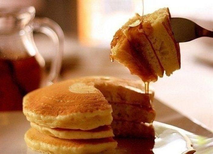 Que tal preparar um café da manhã especial para sua mãe, com panquecas americanas integral?!