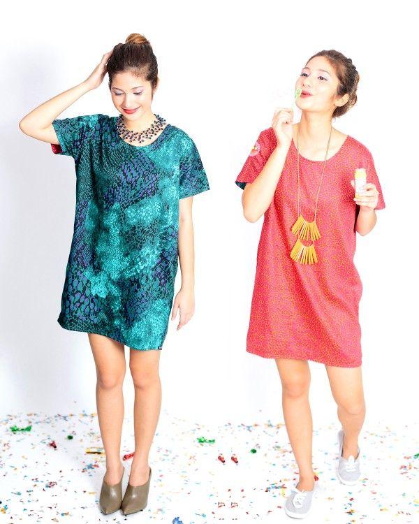 Martina Reversible Shirt Dress