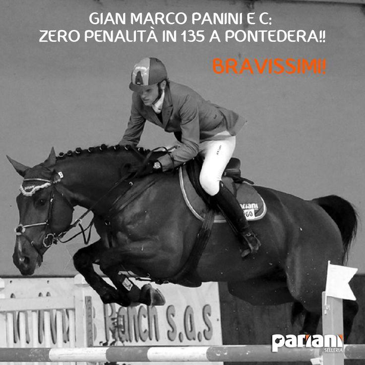Bravissimo Fan di Gian Marco Panini CI Boccadarno che lo scorso week end è andato troppo bene in #sella (Pariani ovviamente!) a C!