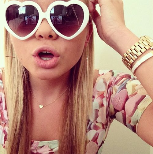 Heart Sunglasses <3