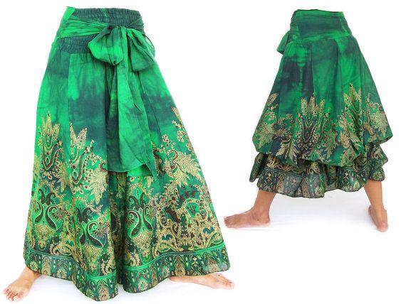Vestido Hippie Falda estilo étnico 100% por SiamroseOriginal