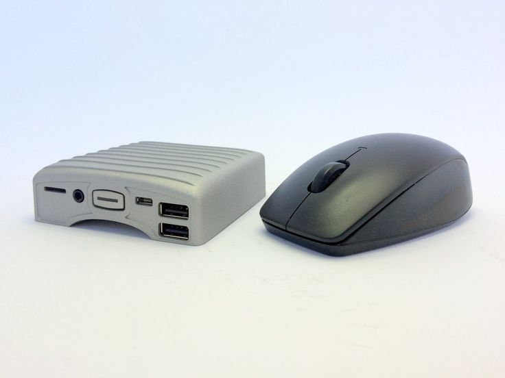 When your mouse is bigger than your PC.  #tech #geek #tinystuff #gadget #linux