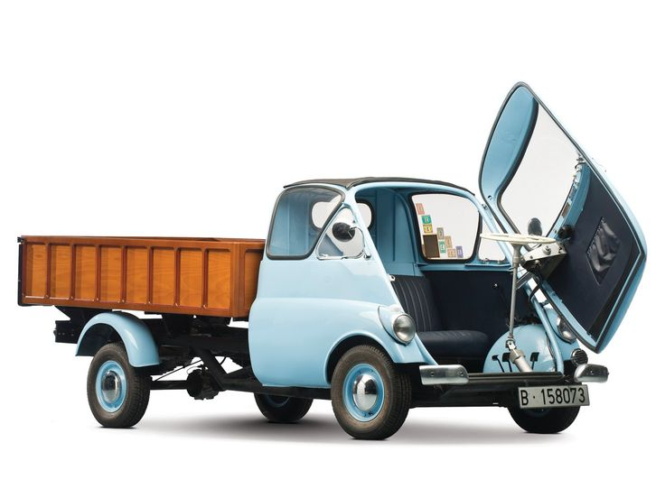 Ever wanted an Isetta pickup truck  because it exists ?