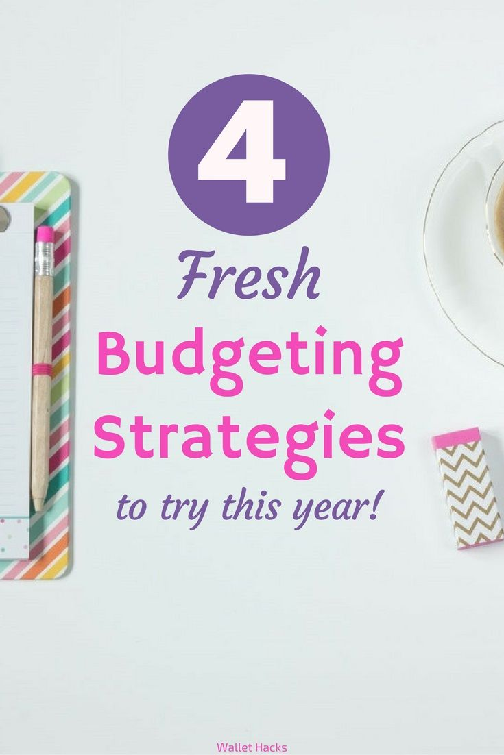 I've tried many, many different budgeting strategies, budgeting apps, and budgeting programs. Here are four different ones that can work for you this year. | budget | finance | personal finance | budget strategies | make a budget || Wallet Hacks #budget #personalfinance