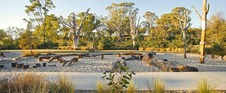 03-Lizard Log Park Playground – water play « Landscape Architecture Works   Landezine Landscape Architecture Works   Landezine