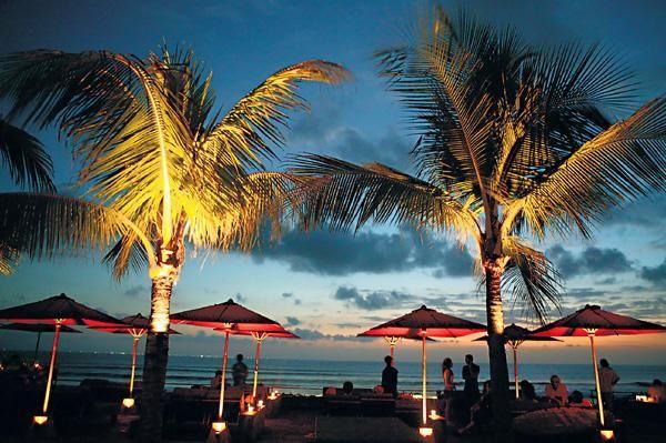 Ku De Ta beach club in Bali in Indonesia