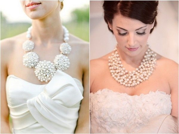 46 Best Statement Wedding Necklaces Images On Pinterest