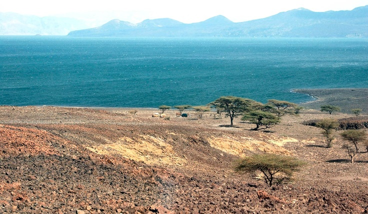 "Lake Turkana, Kenya... discovery of the remains of an early, modern human, ""Turkana boy,"" who probably stood at about 5'3"" tall"